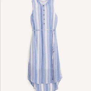 NEW Splendid Henley dress in Stripe High Low M